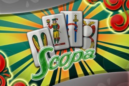aporno gioco di carte scopa